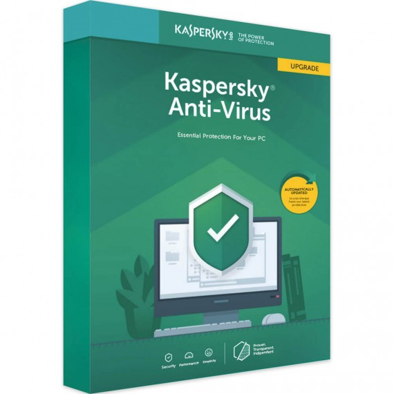 KASPESKY ANTIVIRUS 2020 1 PC