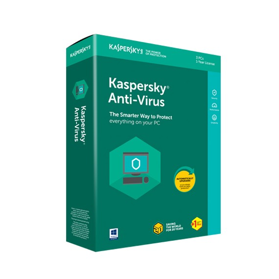 KASPESKY ANTIVIRUS 2020 3 PC